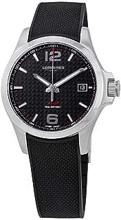 Longines Conquest V.H.P. Carbon Fiber Dial Men's Watch L37164669