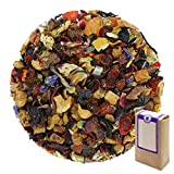 Núm. 1142: Té de frutas 'Estímulo' - hojas sueltas - 100 g - GAIWAN® GERMANY - manzana, rosa mosqueta, hibisco, limón, saúco, papaya, piña, naranja, malva, girasol