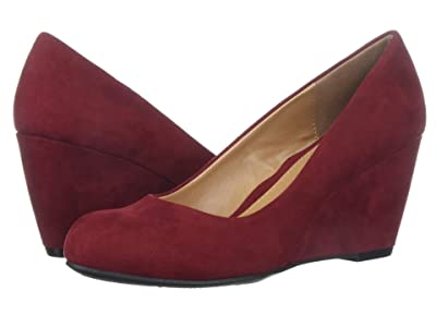 CL By Laundry Nima (Cherry Super Suede) Women