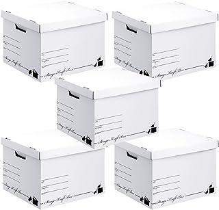 ストレージ クラフトボックス 5個セット 日本製 A4サイズ対応 ネコ (ホワイト)