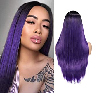 Best dark purple wig Reviews