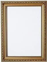 Paintings Frames Bilderrahmen mit MDF-Rückwand, zum Aufhängen oder Aufstellen, mit transparentem Styrol, bruchsicherem Plexiglas, 20,3 x 15,2 cm, goldfarben