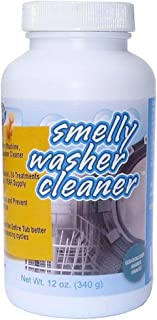 Smelly Washer Washing Machine and Dishwasher Cleaner, All-Natural and Odorless, 24 Treatments