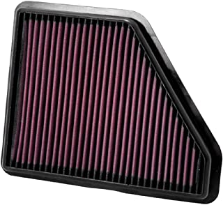 K&N Engine Air Filter: High Performance, Premium, Washable, Replacement Filter: Fits 2010-2017 Chevy/GMC (Equinox, Terrain), 33-2439