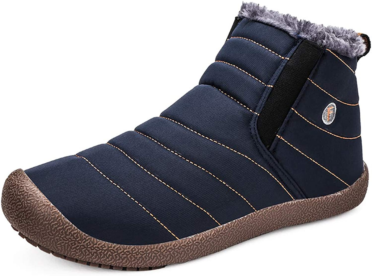 Unm Womens Studded Buckle Strap Round Toe Platform Martin Boots Chunky High Heel Ankle Booties with Zipper