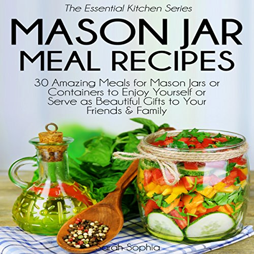Mason Jar Meal Recipes audiobook cover art