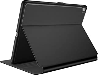 Speck Products Compatible Case for Apple iPad 9.7-inch (2017/2018, also fits 9.7-inch iPad Pro, iPad Air 2/Air), Balance FOLIO Case and Stand, Black/Slate Grey