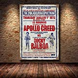 panggedeshoop Schwarz-Weiß Rocky Balboa Boxhandschuhe