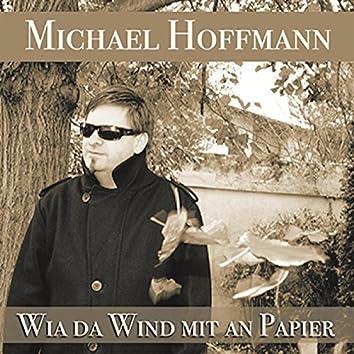 Wia da Wind mit an Papier