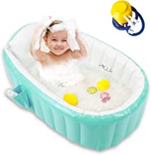Vanessa Portable Foldable Bathtub 25.5in 5-Layer PVC Adult Portable SPA Freestanding Bathtub Thickened PVC to Keep Warm for Longer Suitable for Adults Babies Children and Elderly Color in Forest