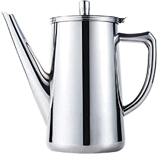De Franse pers Franse pers koffiezetapparaat, RVS Franse pers koffiezetapparaat, dubbelwandige Koffie en thee Brewer Pot &...