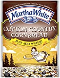 Martha White Cotton Country Buttermilk Cornbread Mix, 6-Ounce (Pack of 12)