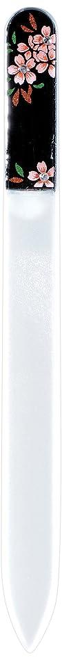 ルーフエンドテーブル高音橋本漆芸 ブラジェク製高級爪ヤスリ スワロフスキー桜 紙箱
