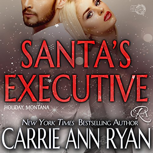 Santa's Executive audiobook cover art