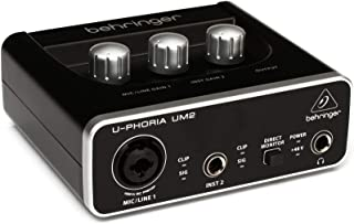 Behringer U-Phoria UM2 (2X2 USB Audio interface