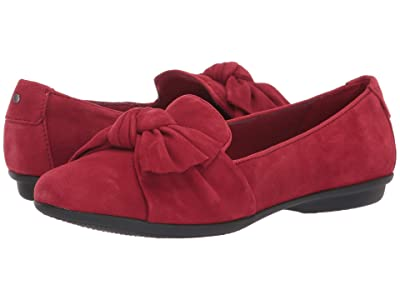 Clarks Gracelin Jonas (Red Suede) Women