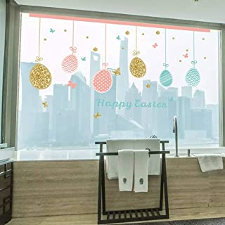 Beyonds Removable Happy Easter self-Adhesive Banner Wall Sticker Theme Party Wall Decals Time Spent with Cats Quote Decal Vinyl Sticker Nursery Pet-Shop Home Decor Art Easy to Install Vinyl Decals