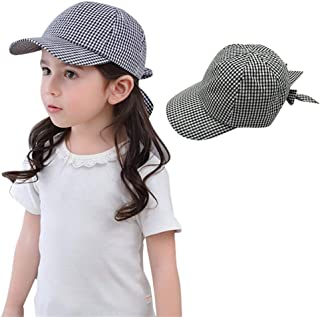 Baby Girls Baseball Hats Sun Protection Caps Summer Play Hat for 0-48 Months Infant Toddler Kids