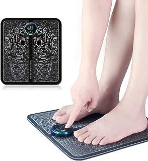 DowoaAlmohada de Masaje de vibración, Estera de Masaje de pies eléctrica EMS masajeador de pies USB para el Cuidado de la Salud en el hogar y la Oficina