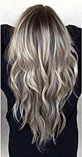 Moresoo 16 Inch Hair Extensions Tape in Human Hair 40 Pieces Adhesive Hair Tape Color #1B Off Black Fading to #18 Ash Blonde and #60 Platinum Blonde Tape on Hair Extensions Human Hair Ombre 100g