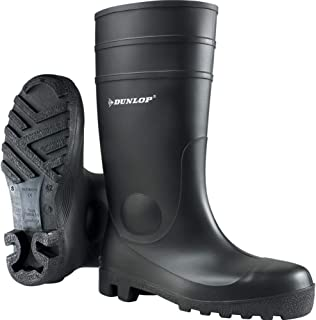 Dunlop Protective Footwear Protomastor, Bottes de sécurité Mixte Adulte, Noir, 41 EU