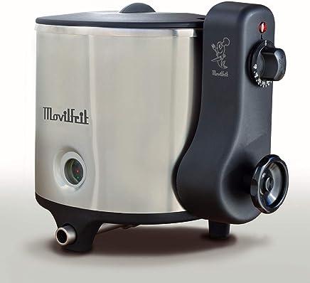 MOVILFRIT 117.054 Lux 5 - Freidora con sistema de aceite-agua, 25.8 x 25.5