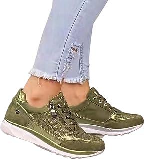 Dames sneakers Casual Schuine hak Wandelschoenen Outdoorschoenen met comfortabele zijrits