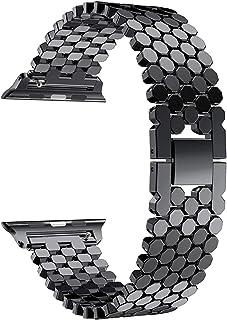 Correa de Acero Inoxidable Aplicar a Apple Watch Band Apple Watch 4 3 Band 44mm 40 mm Iwatch Band 42mm / 38mm Link Bracele...