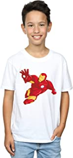 Marvel niños Iron Man Simple Camiseta