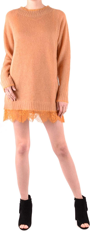 TwinSet Women's MCBI37523 orange Wool Dress