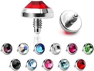 Best dermal piercing ring Reviews