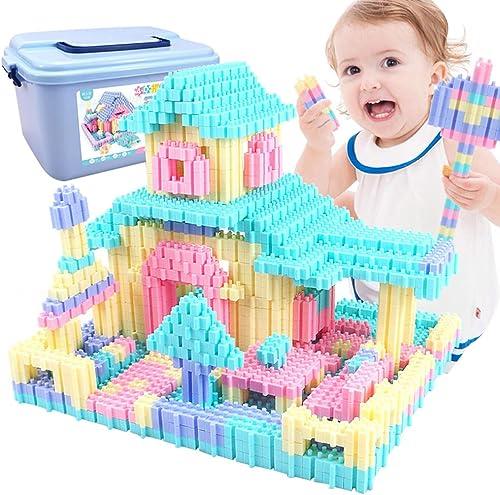 Kinder p gogisches Spielzeug, 4D-Zauber in die Partikel Bausteine  uzzle frühe Bildung in den Bausteinen Spielzeug (über 4 Jahre alt) eingefügt