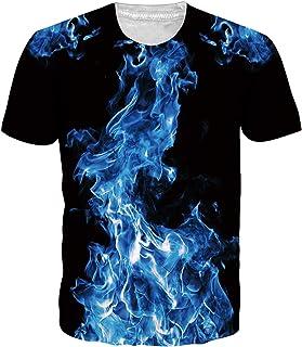 Hombres Camiseta 3D Patrones Impresos Manga Corta Camiseta S-XXL