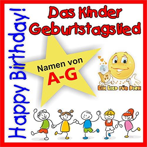 Happy Birthday ! Das Kinder Geburtstagslied für Anja