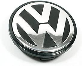 puzhanyou 65MM Caddy,EOS,Golf,Jetta,Passat CC,Phaeton,Scirocco,Sharan,Tiguan,Touran,Transporter for Volkswagen VW Hubcap Wheel Center Caps - Part Number 3B7-601-171 (1 Piece)