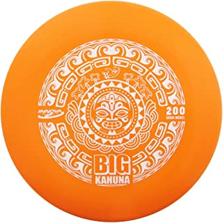 Innova Discs Big Kahuna 200g Heavyweight Ultimate Catch Disc [Hot Stamp Color May Vary] - Tiki Design