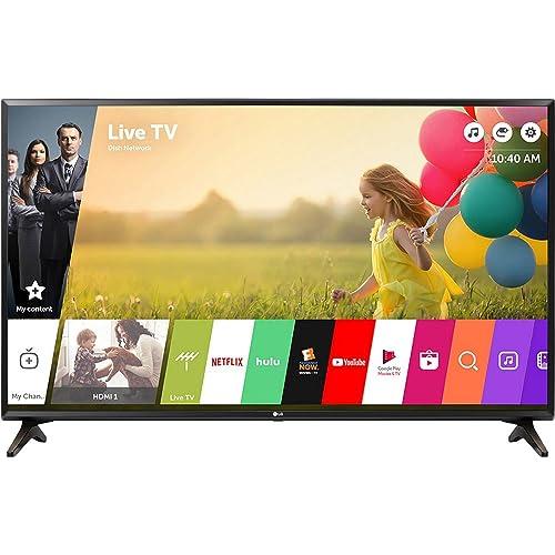 """LG 49LJ550M 49"""" Class (48.5"""" Diag) Full HD 1080p Smart LED TV (TV Only)"""