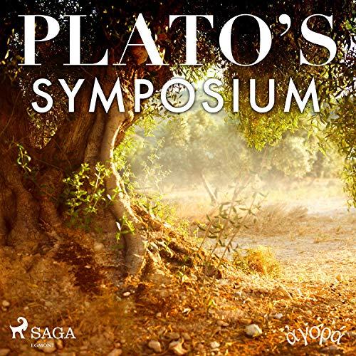 Plato's Symposium audiobook cover art
