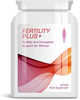 FERTILITY PLUS Female Fertility & Conception Support Pills for Women Pregnant