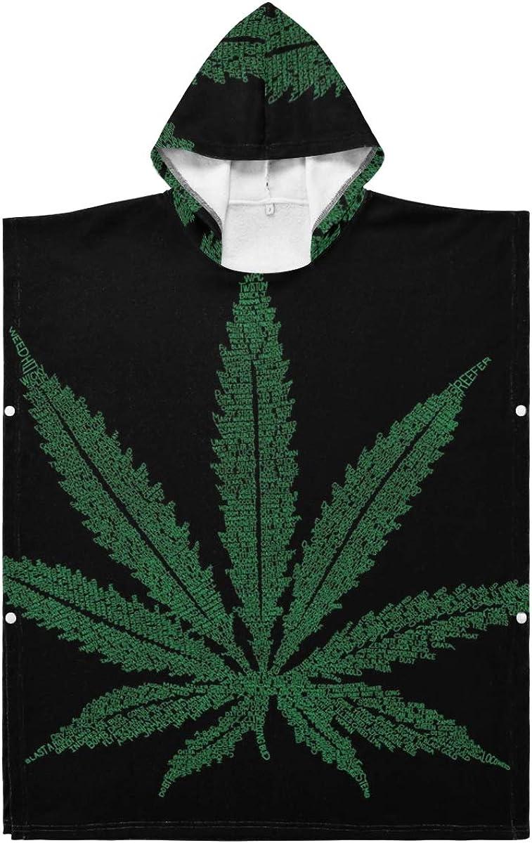 wholesale LORONA Weed Black Marijuana Teens Polyester-Cotton New Shipping Free Kids Cannabis