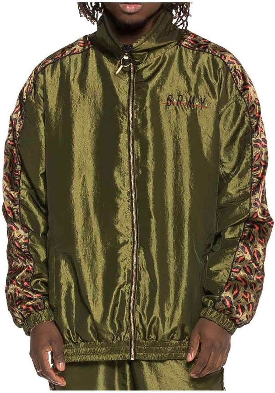 Grimey Midnight Chameleon Track Jacket SS19 Grün