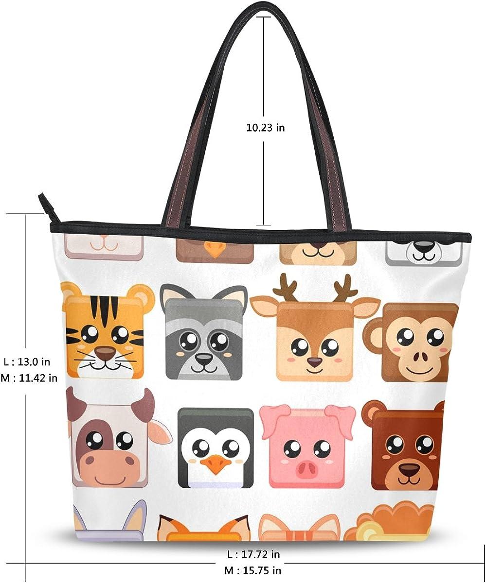 JSTEL Women Large Tote Top Handle Shoulder Bags 222 Patern Ladies Handbag