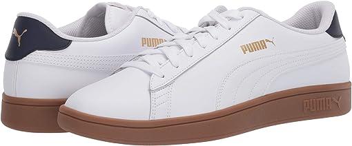 Puma White/Peacoat/Puma Team Gold/Gum