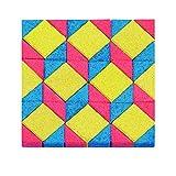 ANKER- Puzzles 3D, de Mosaico Laosa, Multicolor (58815)