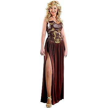 Disfraz de guerrera medieval para mujer: Amazon.es: Juguetes y juegos