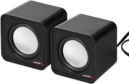 Audiocore, AC870,altoparlanti stereo ultra-compatti, 2.0PC 2x 3Watt RMS - Trova i prezzi più bassi
