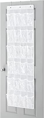 GTC Collection Over-The-Door Shoe Organizer (Clear) 325