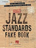 The Hal Leonard Real Jazz Standards Fake Book: C Edition (Fake Books) (English Edition)