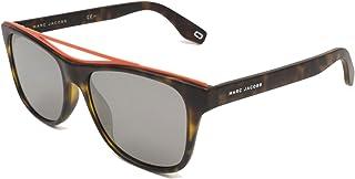 نظارات مارك جاكوبس مارك 303/S بلون هافان مطفأ/أسود عدسات مرآة 54 ملم N9PT4 Mark 303S Marc303S Marc303/s