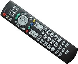 HCDZ Replacement Remote Control for Panasonic TC-P50V10 TC-P54V10 PT-50LCX64 TH-37PX50U PT-53TWD63 Viera LCD LED Plasma HDTV TV